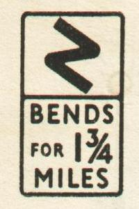 1954_Highway_Code_-_Bends_for_1_3-4_miles